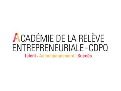 Logo académie de la relève entrepreneuriale