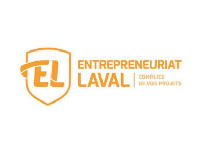 Logo entrepreneuriat laval