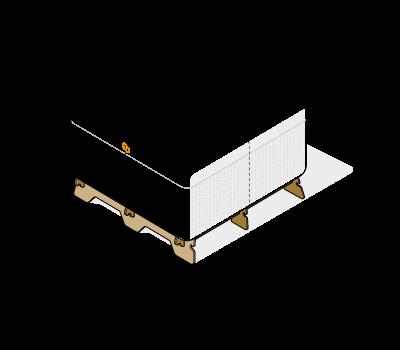 kit 3 Deep hive body