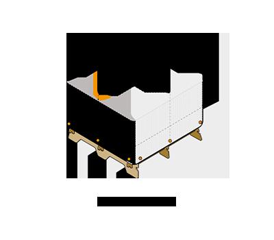 kit 4 gamme housse espace abeille
